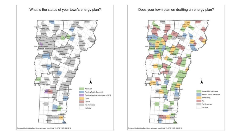 Status of Municipal Energy Planning