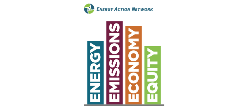 2019 EAN Annual Progress Report Cover - Energy, Emissions, Economy, Equity