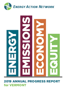 2019 Annual Progress Report for Vermont - Energy, Emissions, Economy, Equity